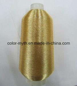 Pure Golden Ms/St Type Metallic Yarn Lurex Yarn Embroidery Yarn pictures & photos
