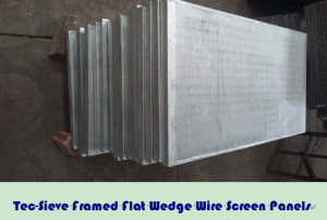 Tec-Sieve Framed Flat Wedge Wire Screen Panels pictures & photos