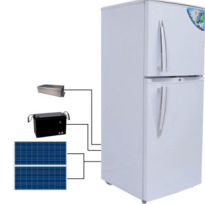 Double Door of Solar Refrigerator pictures & photos