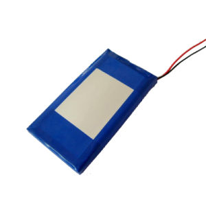 3.7V Lithium Polymer Battery for Digital Product (1250mAh)