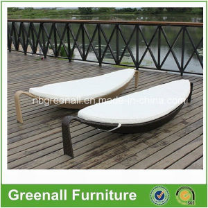 Rattan Banana Leaf Shaped Sun Lounge pictures & photos