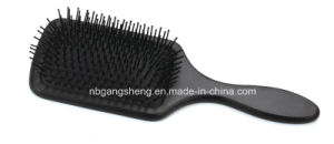 China Paddle Wooden Brush with Nylon Pin pictures & photos