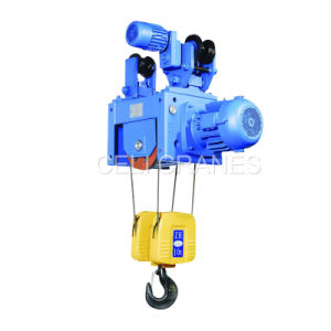 Metallurgy Wire Rope Hoist 1.25t pictures & photos