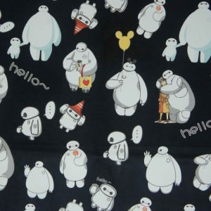 Oxford 600d High Density PVC/PU Baymax Printing Polyester Fabric (XLT-BM) pictures & photos