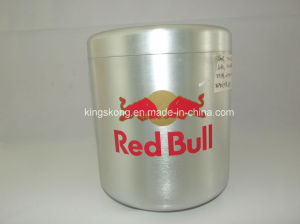 Promtional Aluminium Small Red Bull Ice Bucket pictures & photos