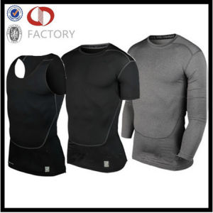 Custom Gym Running Sports Men Clothing Fitness Wear Shirts pictures & photos