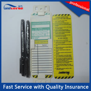 Scaffolding System Kit Scaffold Tag with Erection & Inspection Record pictures & photos
