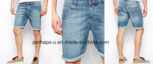 Cool Boy Mens Leisure Denim Shorts pictures & photos