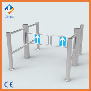 Hot Sell Supermarket Emergency Access Swing Barrier Gate pictures & photos