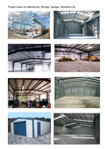 Prefabricated Steel Shed/Steel Structure Warehouse/Steel Workshop/Steel Frame Structure/Steel Building pictures & photos