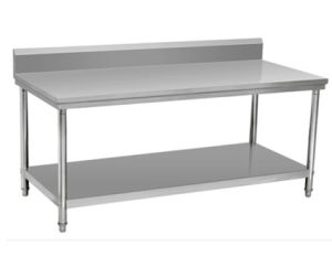Polishing Stainless Steel Working Table, Doube Layers Working Platform pictures & photos