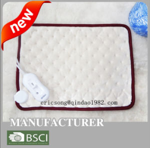 220V-240V Portable Polyester Ultrasonic Heating Pad pictures & photos