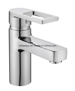 New Model Deck Mounted Single Handle Brass Basin Tap (H03-101) pictures & photos