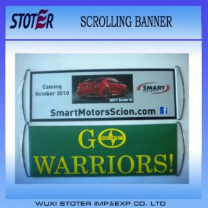 Promotion Scrolling Fan Hand Flag/Banner pictures & photos
