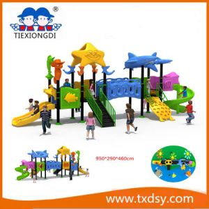 China Amusement Park Outdoor Playground Equipment Txd16-Bh090 pictures & photos