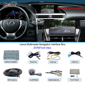 Car Multimedia Navigation Interface Box for Lexus Hiphone Navigation, USB, Rear pictures & photos