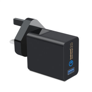 5V2a Charger Emergency Quick Charger 2.0 with Us&EU&Ukplug pictures & photos