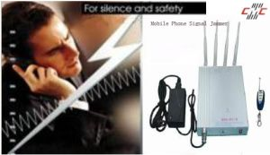Cell Phone Signal Jammer/Isolator/Breaker (K8868 Ultra Thin Type)