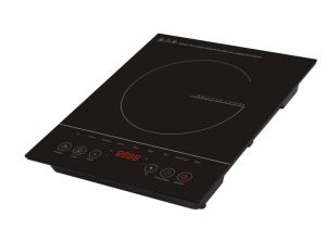 Kitchen Appliance 120V 1500W ETL 4 Digit Display Electric Induction Cooker pictures & photos