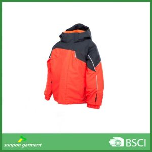on-Time Shipment Kids Contrast Color Winter Padded Jacket pictures & photos