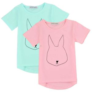 100% Cotton Plain Children′s T-Shirt (A534)