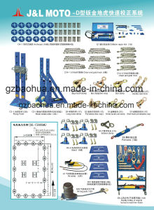 Auto Body Repair System-Bench/Vehicle Body Straightener Machine (Model D) pictures & photos