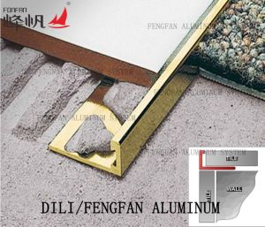 Flooring Accessories Tighten Tile Quarter Transition Angle Edge pictures & photos