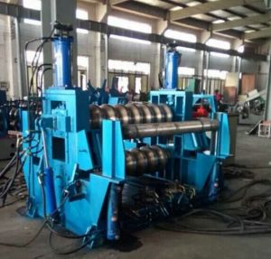 PLC Electirc Computer Actomatical Control Steel Silo Roller Forming Machine pictures & photos