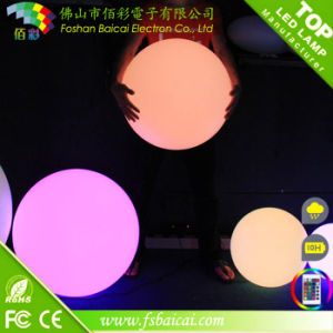 30cm Plastic Ball Solar Light for Gardent pictures & photos