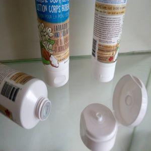 Plastic Laminated Cosmetic Container Oriented Flip Top Cap pictures & photos