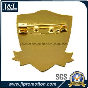 Die Struck Bronze Lapel Pin with Transparent Soft Enamel pictures & photos