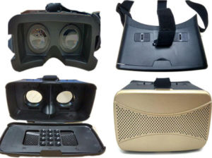 Newest 3D Virtual Reality Vr 3D Box with Glasses on Smartphone pictures & photos