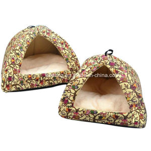 Canvas Mongolian Yurts Cat Dog House/Bed for Lovely Pet (KA0097) pictures & photos