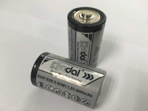 Carbon Zinc R20 D Battery pictures & photos