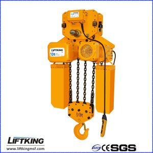 3t Best Selling Single Lifting Speed Electric Chain Hoist pictures & photos
