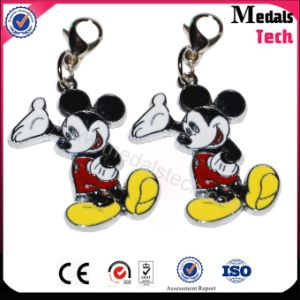Wholesale Mini Size Color Filled Metal Mickey Mouse Keychain pictures & photos