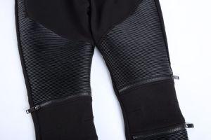 Fashion Elastic Waist Zipper Pants pictures & photos