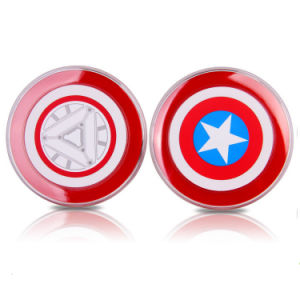 Avengers Captain American Qi Standard Wireless Charger Pad for Samsung pictures & photos