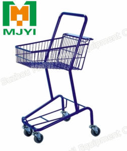 Japanese Supermarket Shopping Trolley pictures & photos