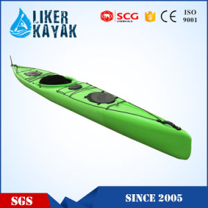 New Colorful Single Sit in Racing Kayak PE Kayak pictures & photos