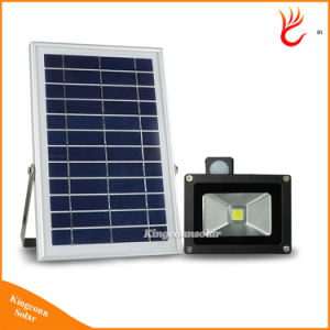 10W LED Solar Floodlight Outdoor Solar Flood Light for Garden Solar Street Light pictures & photos