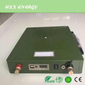 Rechargeable 12V 45ah Lithium Battery with USB and LED Lamp pictures & photos