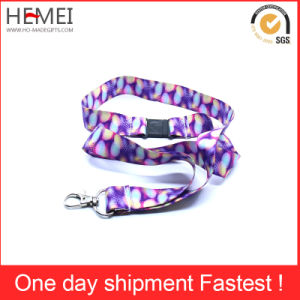 Custom Printed Lanyards with Detachable Buckle pictures & photos