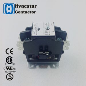 Super Quality UL CSA Definite Purpose Contactor 2 Pole Contactor pictures & photos