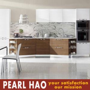Kenya Nairobi Customize Melamine White Kitchen Cabinets pictures & photos