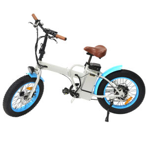 2017 Deign Folding Fat Tyre Electric Bike Mountain for Adult pictures & photos