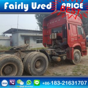 Used 336/371/375HP HOWO Truck Tractor of HOWO Truck Head