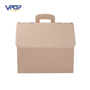 Foldable Corrugated Cat Carton Box Cardboard Cat House pictures & photos