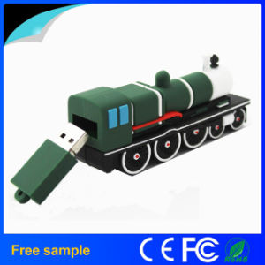 Promotion Gift Custom Cartoon PVC Train Style Memory Stick 4GB pictures & photos