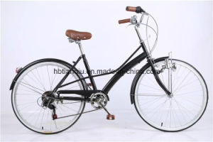 "26"" 6 Speed Steel Leisure Lady City Bicycle/Bike/Cycle pictures & photos"
